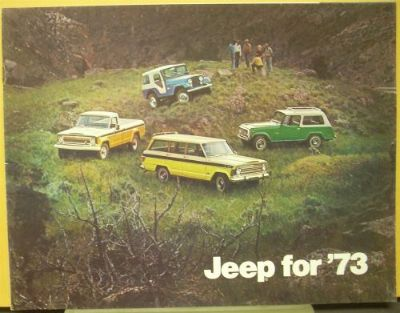 Buy 1973 Jeep & Jeep Commando Wagon Wagoneer Truck Dealer Sales Brochure motorcycle in Holts Summit, Missouri, United States, for US $17.75