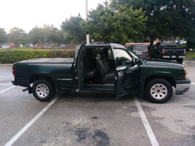 2005 Chevrolet Silverado 1500 Work Truck (Green (Dark))