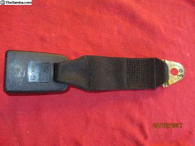 vanagon lap seat belt receiver #30