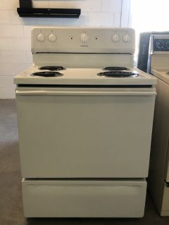 HotPoint White Electric Range