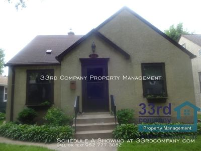 SFH with Perfect South Minneapolis Location!