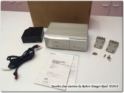 Purchase Sony CDX-606 CD Changer - For Parts Not Working motorcycle in Houston, Texas, United States, for US $45.00