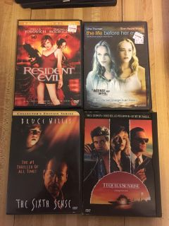 CHEAP DVDs $2 each or $6 for four