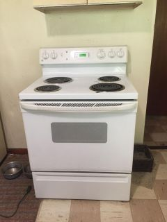 GE electric stove works great!