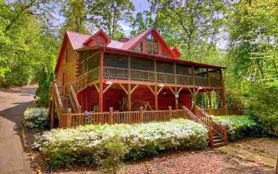 140 Riverwood Ln Ellijay, River Living At Its Best!