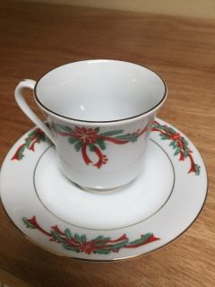 Tienshan Fine China Tea Cup and Saucer