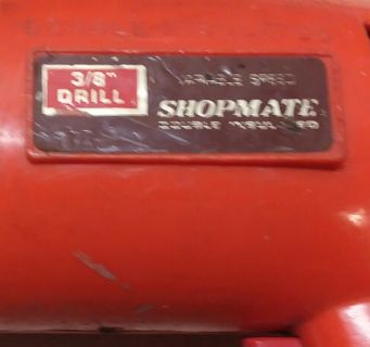 "Used Shop Mate 3/8""Variable Drill Works"