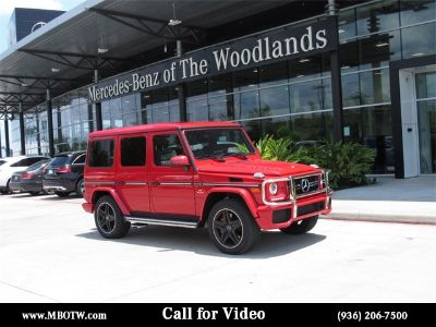 2017 Mercedes-Benz G-Class G63 AMG (designo manufaktur Magma Red)