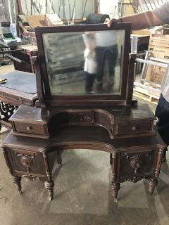 Gorgeous antique vanity (child or young teen size )