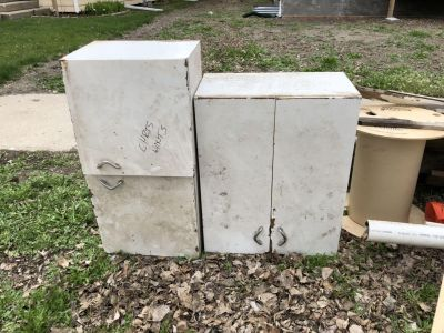 Free metal cabinets