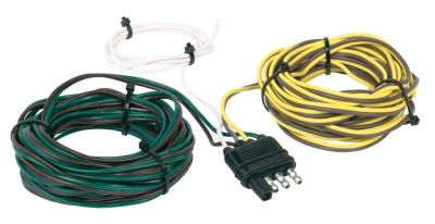 Find Hopkins 48245 Trailer Connector 4 Wire Flat y-Harness/ 20' of Wire motorcycle in Allardt, Tennessee, US, for US $14.53