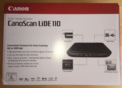 Canon CanoScan LiDE 110 Scanner - NEW!