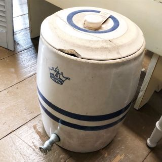 Vintage Crock Water Dispenser