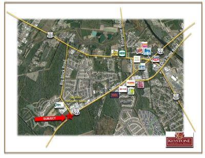 Highway 707 & Big Block Road-4 Acres-Land For Sale-Myrtle Beach