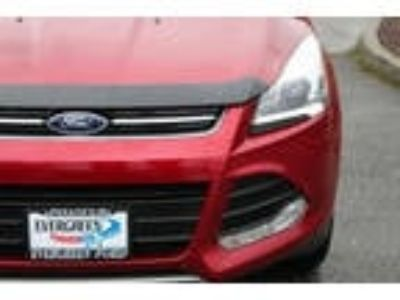 2016 Escape Ford AWD Titanium 4dr SUV Ruby Red Metallic 2.00L