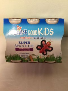 LALA Good kids very intense super smoothie drinks, six pack