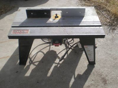 Ryobi Router and Router Table