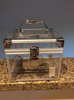 Acrylic and Metal Storage Cube