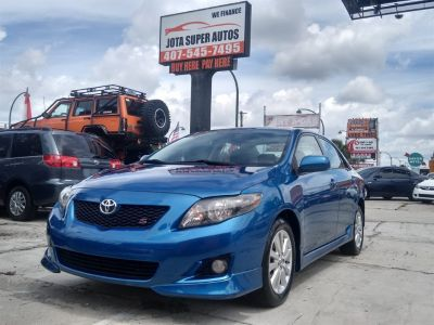 2009 Toyota Corolla Base (Blue)