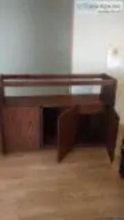 red oak liquor bar cabnet andred oak table