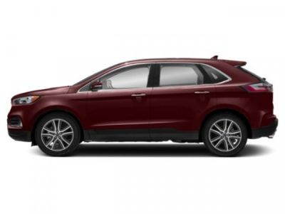 2019 Ford Edge Titanium (Burgundy Velvet Metallic Tinted Clearcoa)