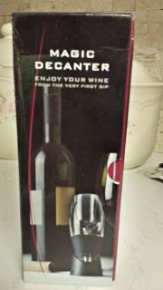 NEW Magic Decanter for Wine
