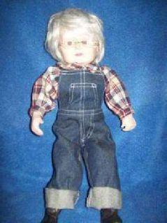 "Doll-""Grandma in her Blue Jeans"""