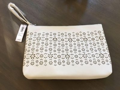 New with tags-white purse