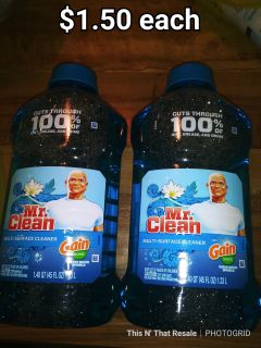 Mr. Clean multi surface cleaners 1.4qt