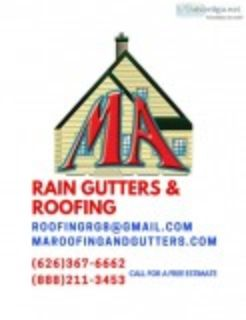 MA RAIN GUTTERS INC and ROOFING