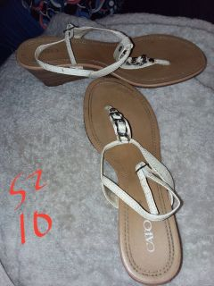 ~~Sandals~~Sizes vary, some wide