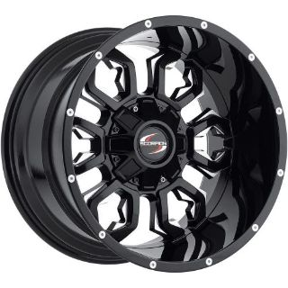 Sell 17x9 Black Milled Scorpion SC17 6x135 & 6x5.5 +12 Rims 37X12.5X17 Tires motorcycle in Saint Charles, Illinois, United States, for US $1,612.96