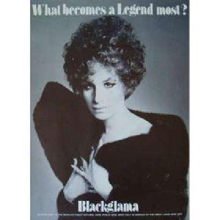 Streisand Blackglama poster