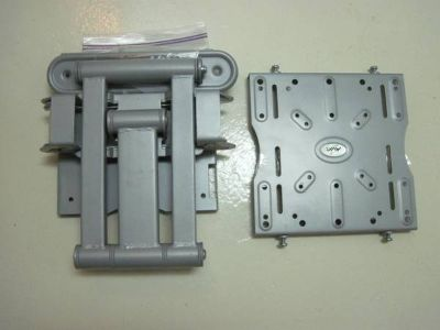 2 flat screen LCD tvs and wall mount