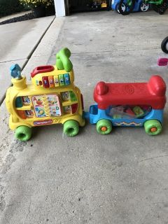 VTech Alphabet Train ride-on toy for toddlers