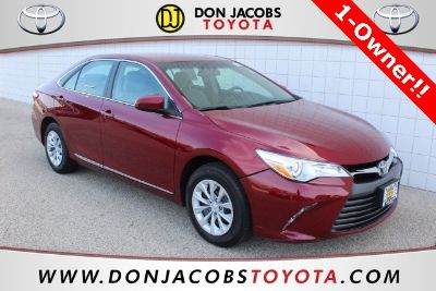 2016 Toyota Camry L (Ruby Red Pearl)