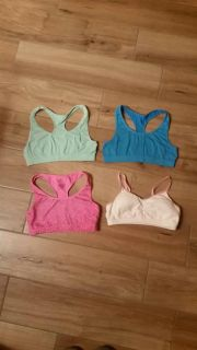 Girls size 30 sports bras. Great condition!