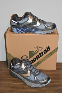 Women s MONTRAIL FAIRHAVEN Blue Gray Running Trail Shoes GL2122 Size 9.5 NEW