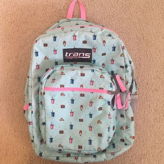 Super Cute Trans by Jansport Backpack - Perfect for Back to School - Excellent Condition