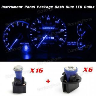 Sell Speedometer Blue LED gauge Cluster Repair Bulbs kit For 1996 Grand Cherokee motorcycle in Milpitas, California, United States