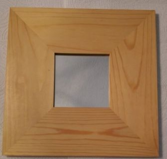 Small Mirror w/Wooden Frame