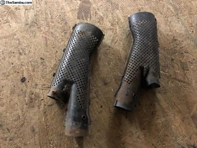 1968+ Type 1 Beetle/Super Beetle Heat Outlet Ducts