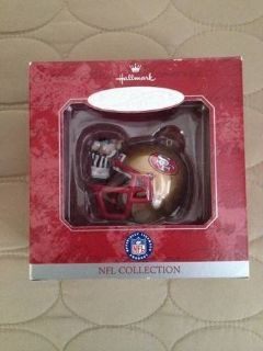 SF 49ers Hallmark Ornaments