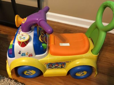 Fisher Price ride-on
