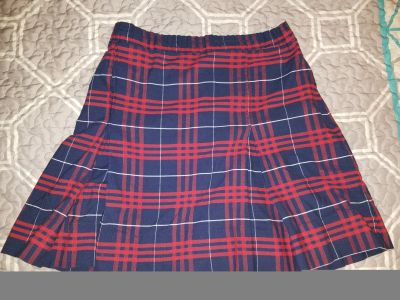 Two plaid #37 size 14