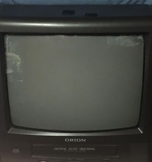Orion TV/VCR combo