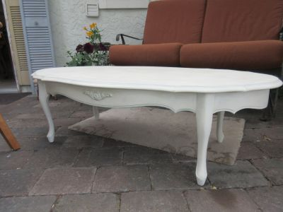 Solid Wood Shabby Chic Coffee Table