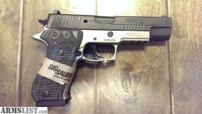 For Sale: Sig Sauer P220 Match Elite 10MM DA/SA 8rd Two-Tone