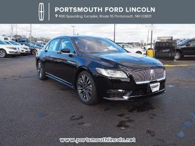 2017 Lincoln Continental Reserve (Black Velvet)