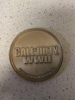 Call of duty ww2 coin